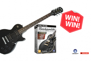 Win Rocksmith 2014 incl. Guitar